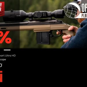 Black Friday Doorbuster ATN OPMOD X-Sight 4k Pro 5-20x Smart Ultra HD Riflescope - OpticsPlanet.com