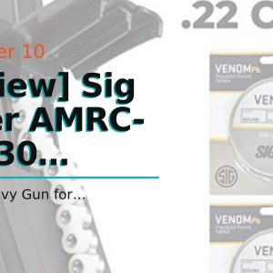 Trusted review: Sig Sauer AMRC-177-30 MPX/MCX Air Rifle .177 30rd Magazine,Black