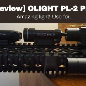 Honest review: OLIGHT PL-2 PL2 Valkyrie 1200 Lumen Rail Mounted Pistol Light Bundle with 4X CR1...