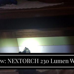 Honest review: NEXTORCH 230 Lumen WL10X Executor Ultra Bright Lightweight LED Weapon Light, Att...