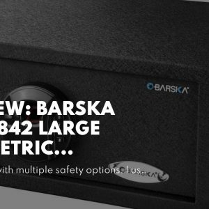 Top rated: Barska AX12842 Large Biometric Fingerprint Keypad Security Home Safe 1.94 Cubic Ft