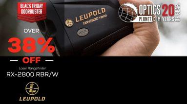Black Friday Doorbuster Leupold RX-2800 TBR/W Laser Rangefinder - OpticsPlanet.com