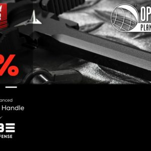 Black Friday Doorbuster TRYBE Defense Ambidextrous Enhanced AR-15 Charing Handle - OpticsPlanet.com