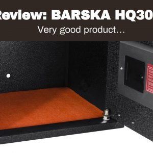 Best reviewed: BARSKA HQ300 Biometric Keypad Safe