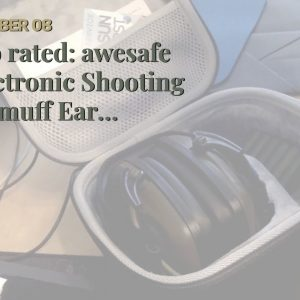 Honest review: awesafe Electronic Shooting Earmuff Ear Protection Noise Reduction for Range
