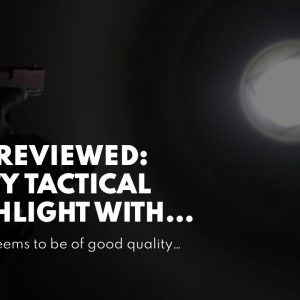 [Review] MA3TY Tactical Flashlight with Picatinny Rail Mount for AR15, Zoomable 1200Lumens Weap...