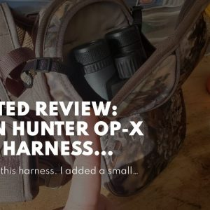 Honest review: Horn Hunter op-x Bino Harness System Combo Camo