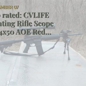 Trusted review: CVLIFE Hunting Rifle Scope 6-24x50 AOE Red and Green Illuminated Gun Scope with...