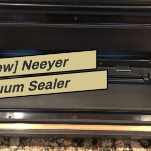 [Review] Neeyer Vacuum Sealer Machine, Automatic Food Sealer for Food Savers w/Starter Kit, Dry...