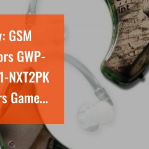 Honest review: GSM Outdoors GWP-UE1001-NXT2PK Walkers Game Ear Ultra Ear (BTE), Camouflage (Pac...