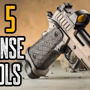 Top 5 Pistols for Beginners & Self Defense