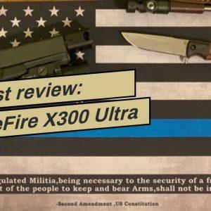 [Review] SureFire X300 Ultra X300U-B High Output 1000 Lumen LED Weapon Lightwith 12 Extra CR12...