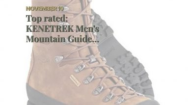 Review: KENETREK Men's Mountain Guide 400 Insulated Abrasion-Resistant Waterproof Stitched Leat...