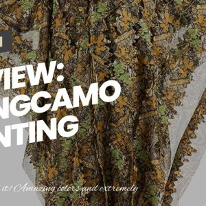 Best reviewed: Tongcamo Hunting Ghillie Suit 3D Bionic Leafy Camouflage Clothing for Jungle Hun...