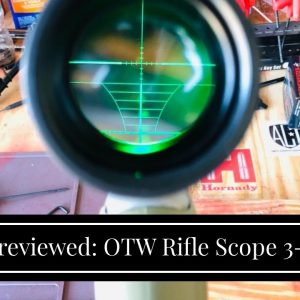 [Review] OTW Rifle Scope 3-9X56 Red&Green Mil-dot Illuminated Optics Optical Scope