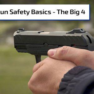 Gun 101: The Four Rules of Gun Safety | Gun Talk