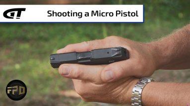 Controlling a Micro Pistol   First Person Defender Bonus