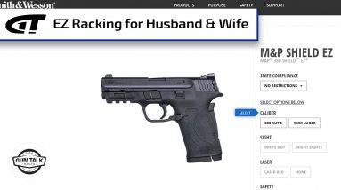 Couple Loves Smith & Wesson's M&P Shield EZ   Gun Talk Radio