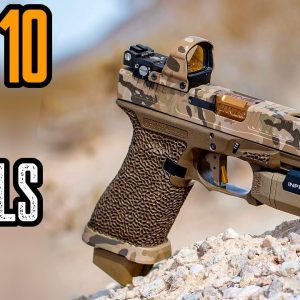 TOP 10 BEST 9mm PISTOLS 2021! TOP HANDGUNS 2021!