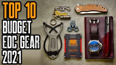 Best Budget EDC Gear 2021! Everyday Carry Gadgets 2021!