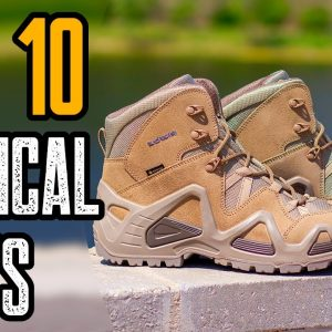Top 10 Best Tactical Combat Boots For Military & Survival 2021