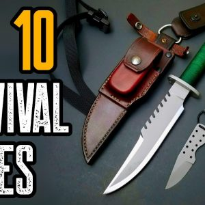 TOP 5 BEST SURVIVAL KNIVES 2021 | YOU MUST OWN!