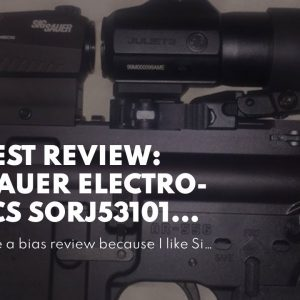 My review: Sig Sauer Electro-Optics SORJ53101 Gun Stock Accessories, Black