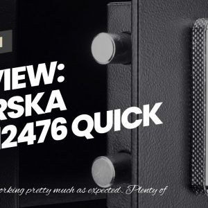 Honest review: BARSKA AX12476 Quick Access Keypad Biometric Fingerprint Security Safe Box 0.46...