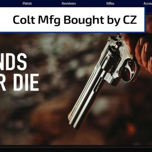 CZ Purchases Colt | Gun Talk Radio