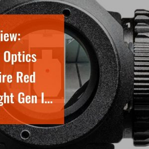 [Review] Vortex Optics Crossfire Red Dot Sight Gen II - 2 MOA Dot