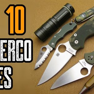 Top 10 Best Spyderco Knives 2021 (EDC Folding Knives)