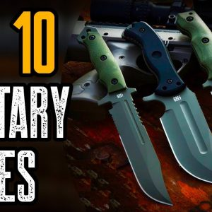 Top 10 Ultimate Military Tactical Knives 2021