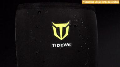 Best Budget TideWe Rubber Neoprene Boots Men and Women, Waterproof Durable 6mm Neoprene Boot