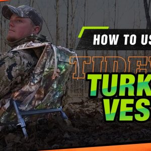 How To Set Up Your TIDEWE Turkey Vest