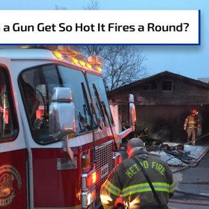 Loaded Gun Fires A Round and Strikes Firefighter | Gun Talk Radio