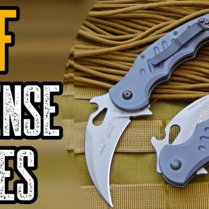 TOP 10 BEST SELF DEFENSE KNIVES FOR URBAN SURVIVAL
