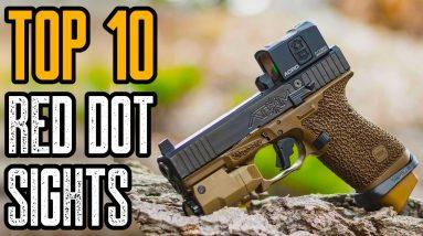 TOP 10 HANDGUN RED DOT SIGHTS 2021| Best Pistol Reflex Sights 2021!