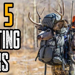 TOP 5 BEST HUNTING BACKPACK FOR THE MONEY 2021