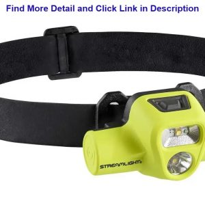 Up To 40% OFF Streamlight 61463 USB HAZ-LO 250-Lumen Intrinsically Safe Rechargeable Headlamp with