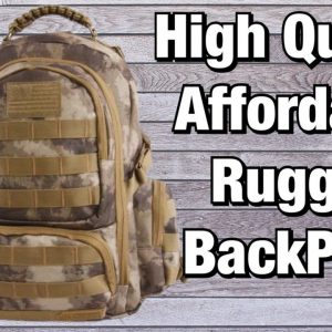 "Affordable, High Quality Mid Sized Backpack | Called the ""WEST"" by Highland Tactical"