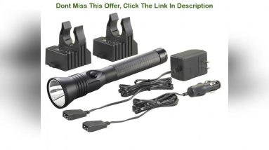 Top Rated Streamlight 75882 Stinger DS C4 LED HP Rechargeable Flashlight - 800 Lumens