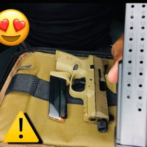 FN 509 COMPACT TACTICAL FDE UNBOXING !!!