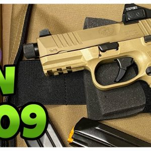 FN 509 TACTICAL COMPACT FDE UNBOXING | First Impression