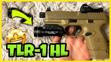 FN 509 TACTICAL COMPACT TLR-1 HL STREAMLIGHT | Easy Mod 👍
