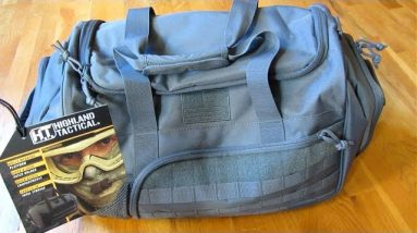 Highland Tactical Duffle Bag | Squad 1.0 | Perfect Carry-On Size