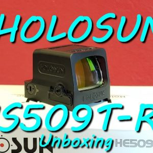 HOLOSUN HE509T-RD - Unboxing