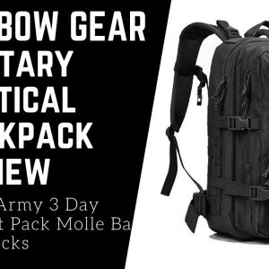 REEBOW GEAR Military Tactical Backpack Large Army 3 Day Assault Pack Molle Bag Backpacks Review