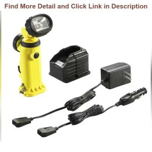 New Deal Streamlight 91627 Knucklehead HAZ-LO Rechargeable Flood Light with 120-volt AC/12-volt DC