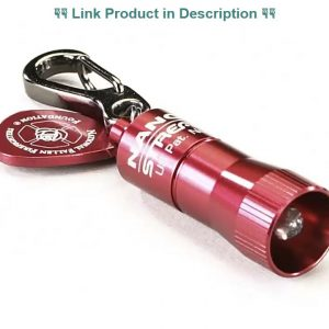 Best Review Streamlight 99142 Nano LED Key Chain Light (10 Lumen), Red, 12-Pack