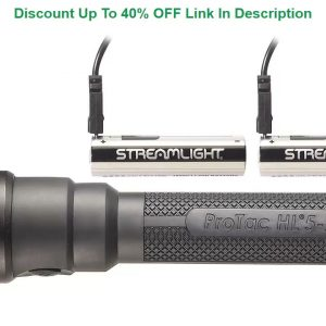 Video Review Streamlight ProTac HL 5-X USB - Rechargeable USB Battery, Dual USB Cord and Wrist Lany